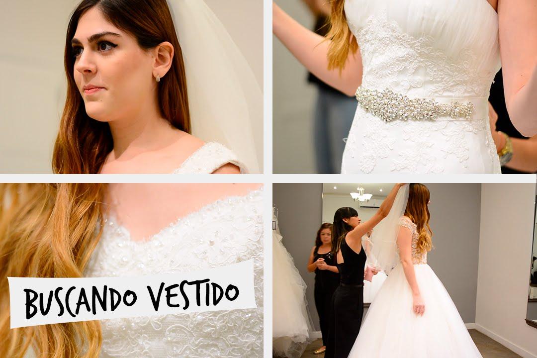 Gris y charly buscando mi vestido de novia
