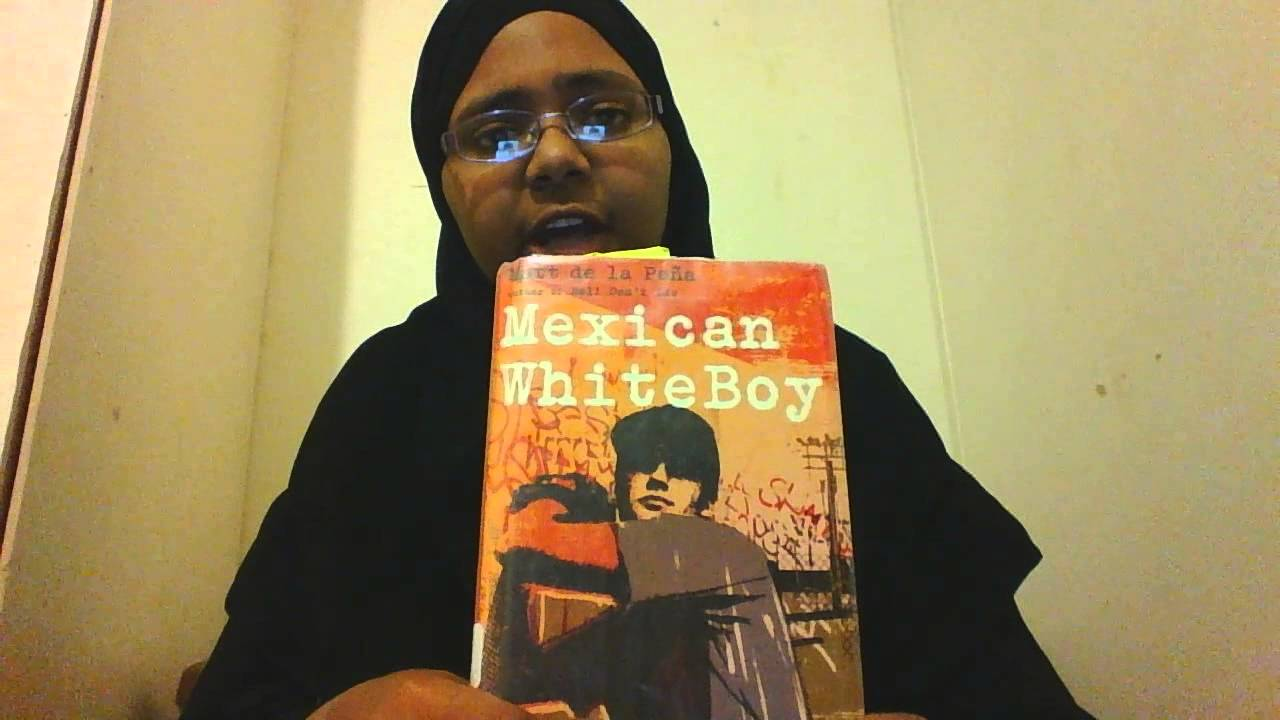 60 sec book review Mexican White boy - YouTube