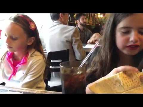 Life and Sophia hit Lebanon Cafe in New Orleans, Louisiana