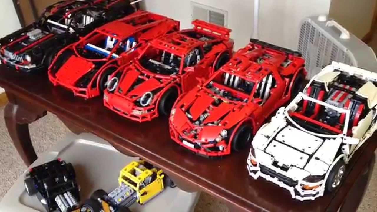 lego technic supercar collection youtube. Black Bedroom Furniture Sets. Home Design Ideas