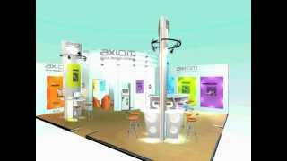 Exhibition Stand Design - Axiom Exhibition Stand 3d Fly-through