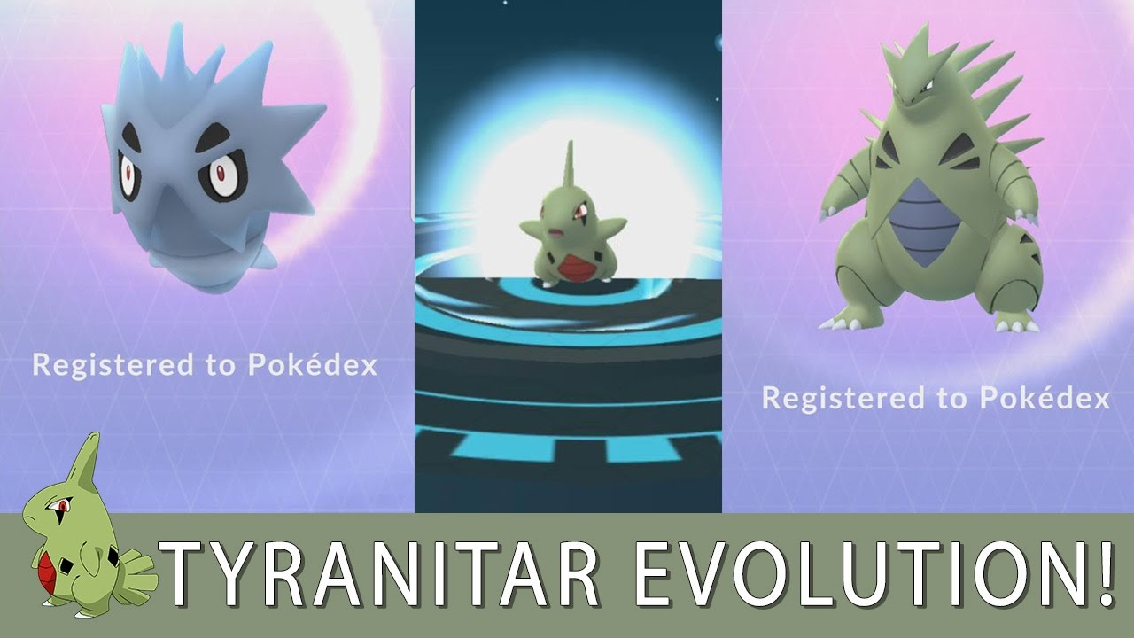 Larvitar Evolve