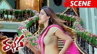 Samantha Hugs Jr NTR - Best Love Scene - Rabhasa Movie Scenes