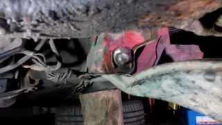 mercedes 190 - разборка передней подвески