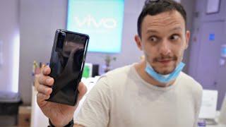 Vivo X50 5G первый взгляд из магазина