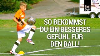 Fußballtraining für Kindern ⚽ Technikerkreis - Fussball-Übung für mehr Ballgefühl