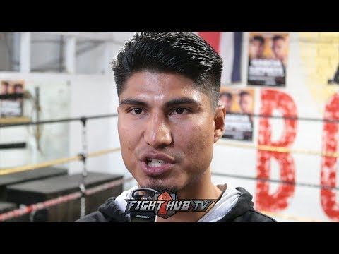 """MIKEY GARCIA """"CRAWFORD SHOULD BE P4P 1 FIGHTER UNLIKE LOMACHENKO FIGHTING SMALLER FIGHTERS"""