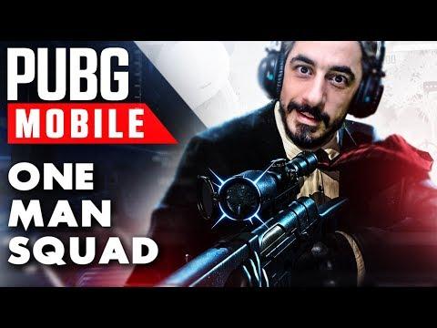 ÇILGIN KESKİN NİŞANCI KAPIŞMASI !! - PUBG Mobile (One Man Squad)