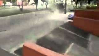 Man ontploft