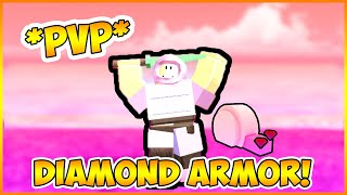 Pvp WITH NEW *DIAMOND ARMOR* | Roblox Booga Booga