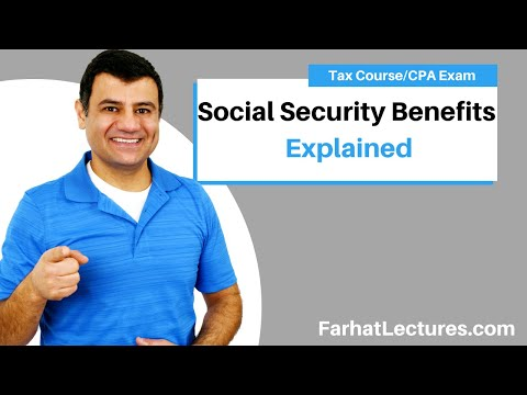 Taxable Social Security Benefits | Income Tax Course | CPA Exam Regulation