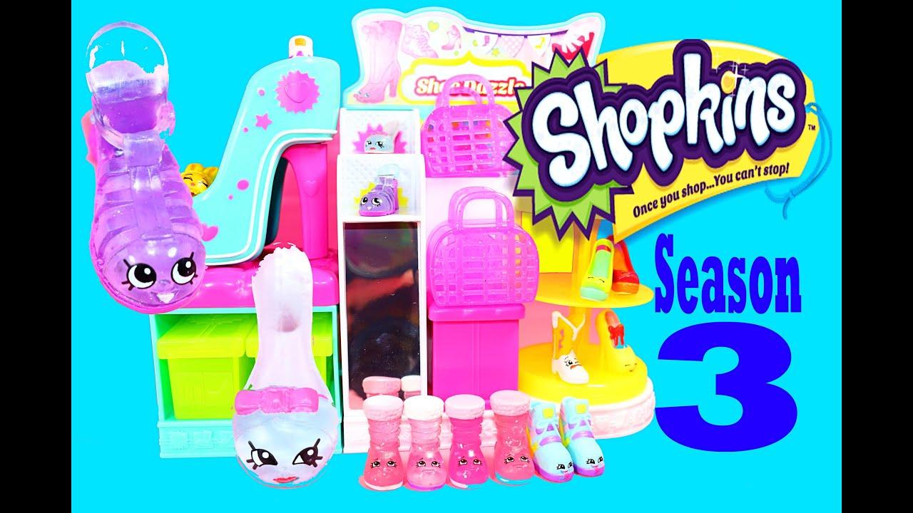 Shopkins Season 3 Shoe Dazzle Store Limited Edition Toys