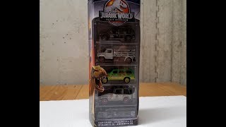 Target Exclusive Matchbox Jurassic Park Legacy 5 Pack Review!