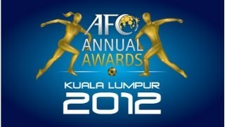 The AFC Annual Awards 2012