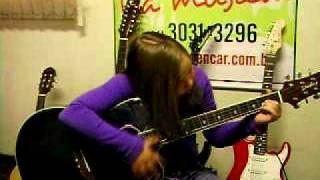 Rafaela na Escola de Musica Fabio Alenar