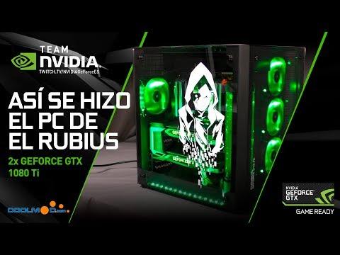 Así se hizo el GeForce GTX PC de El Rubius