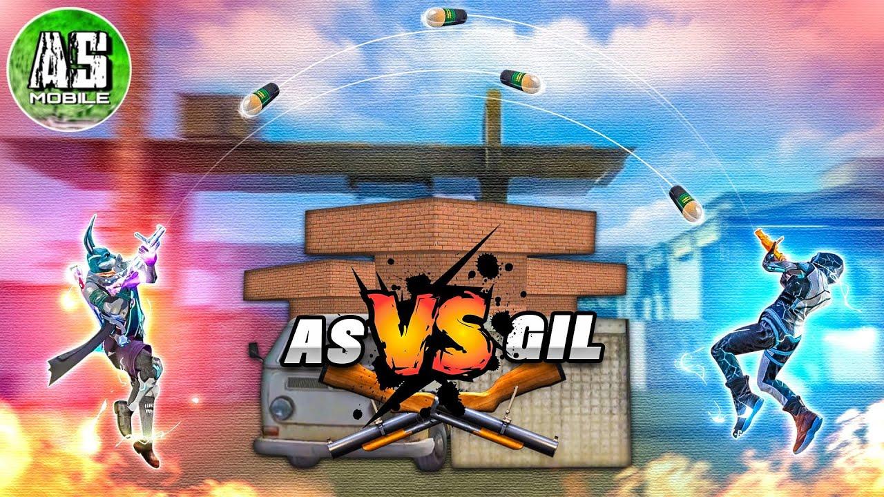 [Free Fire] AS Mobile VS GilGaming TV | Thử Chơi Siêu Phóng Lựu !!!