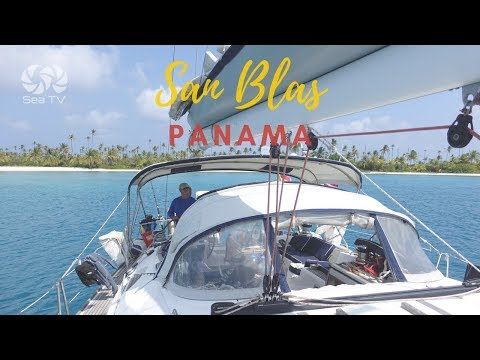 Sailing to San Blas, Panama