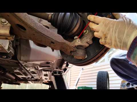 How To Change A Control Arm - ex : Chevy Impala 2006-2013