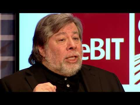 CeBIT Global Conferences - Keynote Steve Wozniak
