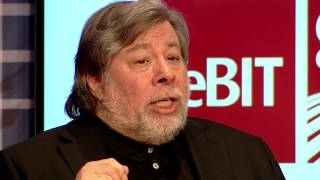 CeBIT Global Conferences - Keynote Steve Wozniak