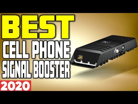 5 Best Cell Phone Signal Booster In 2020