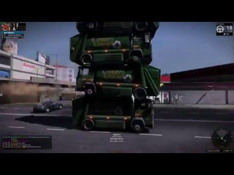 APB Reloaded - Stacking 4 Garbage Trucks