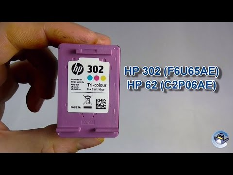 How to Refill HP 302 & HP 62 Tri-Colour Ink Cartridges