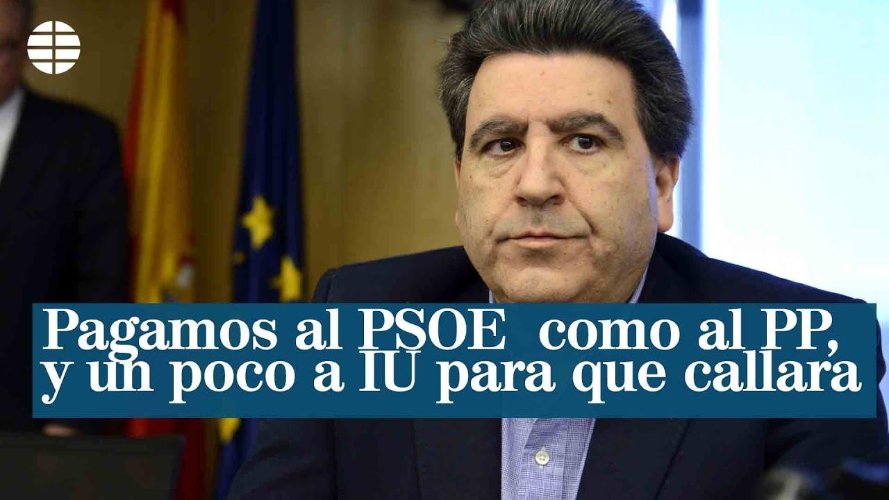 """David Marjaliza: """"Pagamos al PSOE como al PP, y un poco a IU para que callara"""""""