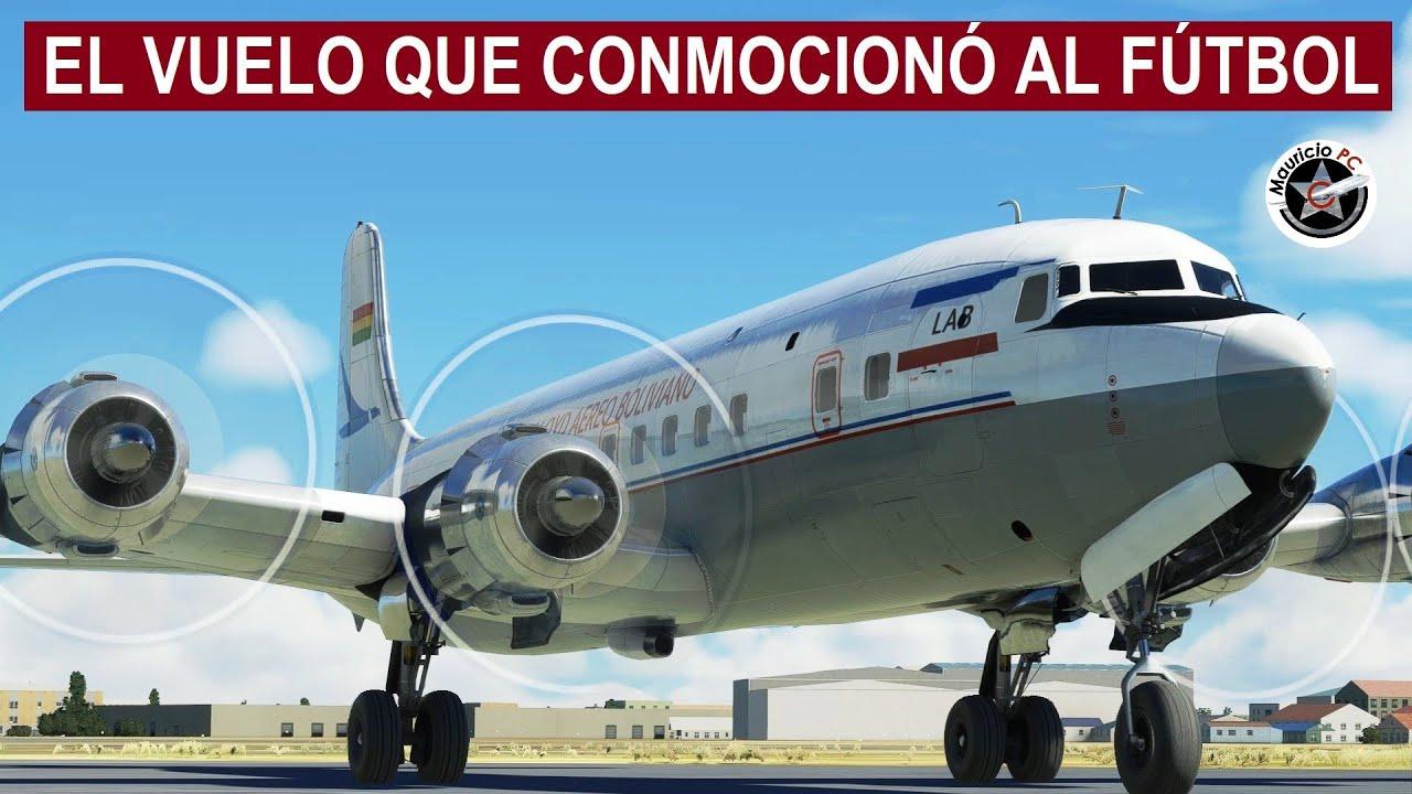 El Vuelo que Desapareció a un Equipo de Fútbol - Lloyd Aéreo DC-6