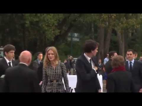 "Natalia Vodianova & Antoine Arnault at ""Foundation Louis Vuitton"" Opening Event"