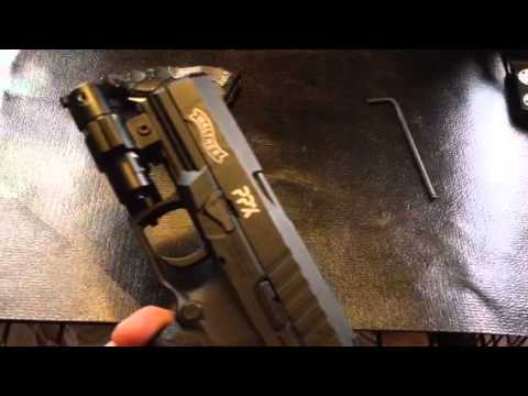 Walther PPX accessories
