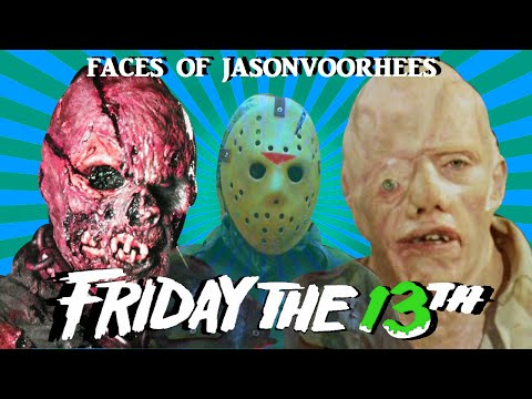 the-many-faces-of-jason-voorhees-☆friday-the-13th☆