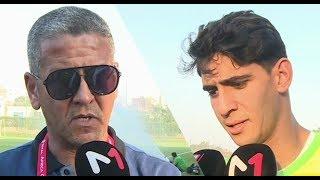 #نوفل_في_لكان .. تصريحات اللاعبين وإعلاميين مغاربة حول مواجهة