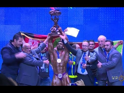 Ahmad Yasin Salik Qaderi -90 kg the world bodybuilding champion 2017