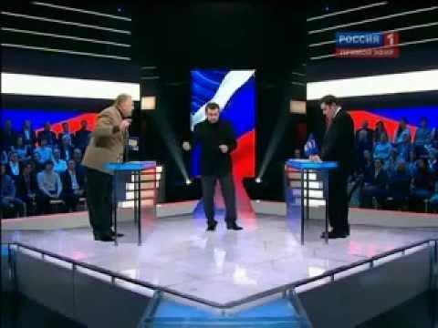 ПОЛНАЯ ВЕРСИЯ Дебаты Жириновский vs Хинштейн 24.11.2011
