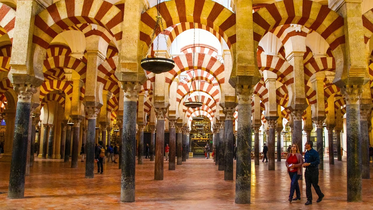 Mosque cathedral of cordoba spain youtube for Interior mezquita de cordoba
