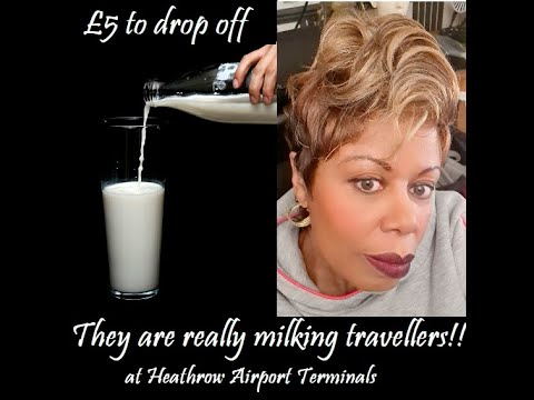 ARE TRAVELLERS BEING MILKED?   IT'S GONNA COST A FIVER TO DROP OFF A PASSENGER AT HEATHROW