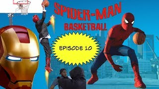 Spiderman Basketball Episode 10 feat. Ironman