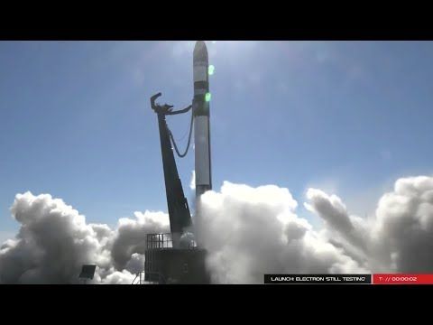 Rocket Lab Electron Still Testing aborted launch, 12 December 2017