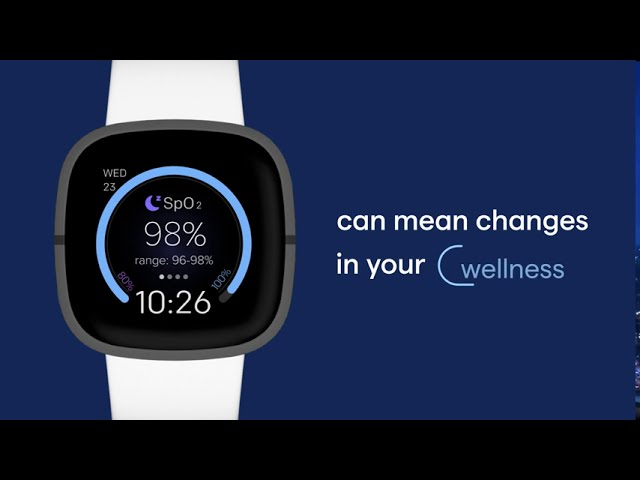 Oxygen saturation (SpO2), simplified by Fitbit
