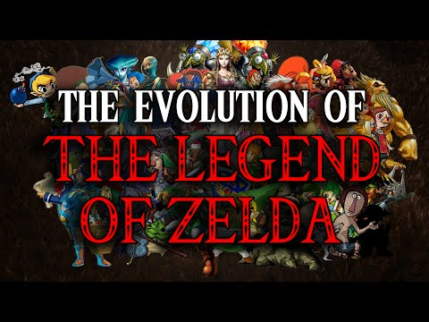 The Evolution of The Legend of Zelda (1986-2016)