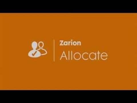 Quick Tour of Zarion Allocate (Coxswain Alliance)