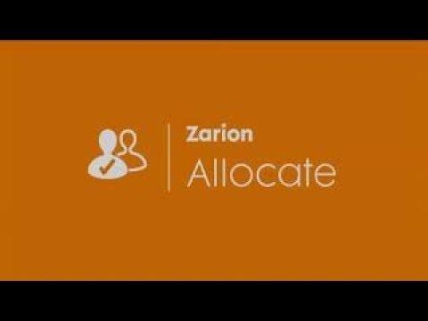 Quick Tour of Zarion Allocate (Coxswain Alliance)