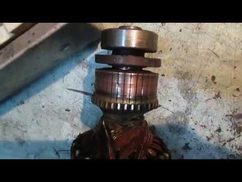 BOSCH стиралка. Ремонт-перемотка эл.мотора стиралки BOSCH.