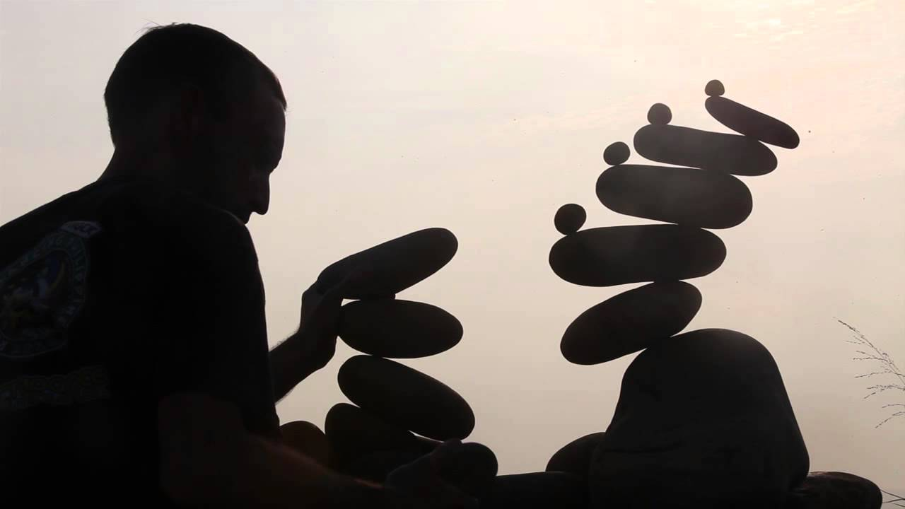 bf25f275ac50 Live Rock Balancing by Gravity Meditation (Sound by D.A.B.   Initialized) -  YouTube
