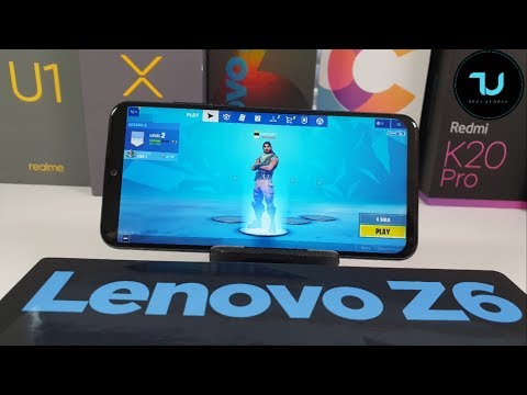 Lenovo Z6 Lite Fortnite Season X Gameplay/After updates/ Snapdragon 710 gaming test/Youth edition
