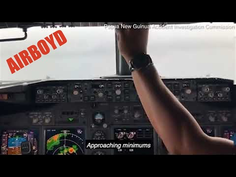 Cockpit Footage Shows a Boeing 737 Crash Into a Lagoon in