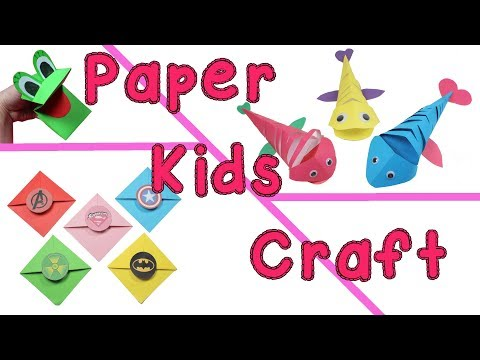 diy-kids-paper-ideas---cute-and-easy-craft-projects