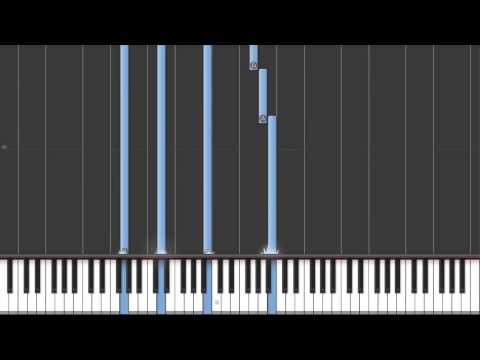 Metal Gear Solid - The Best Is Yet To Come Synthesia Piano Tutorial